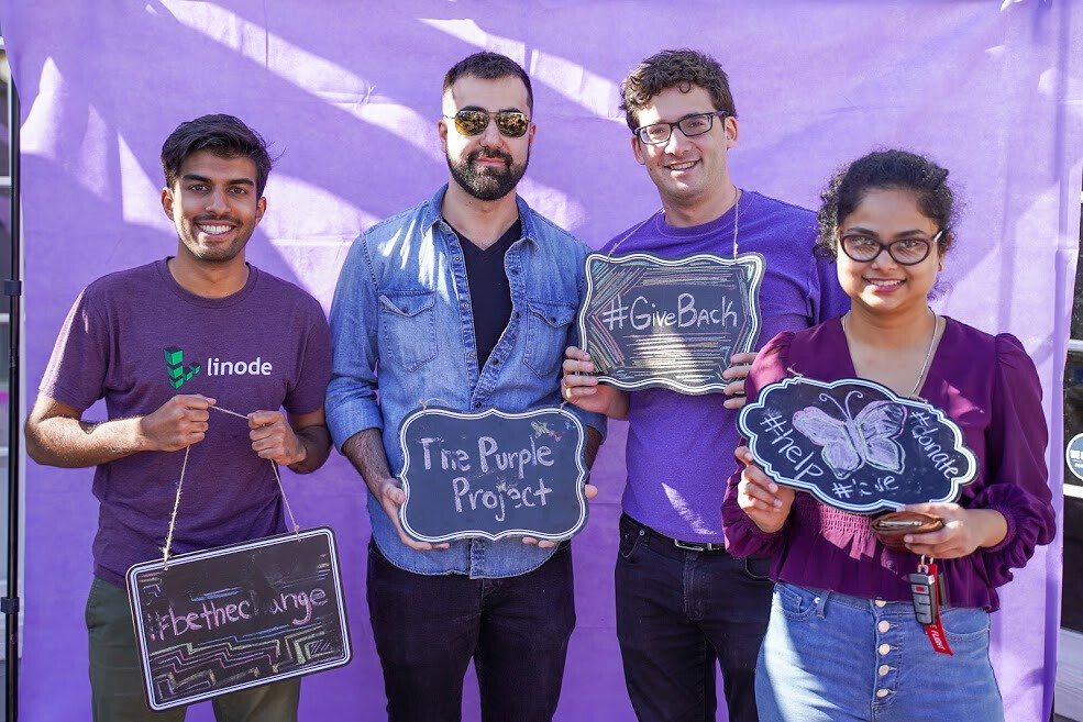 Purple Project Fundraising Event