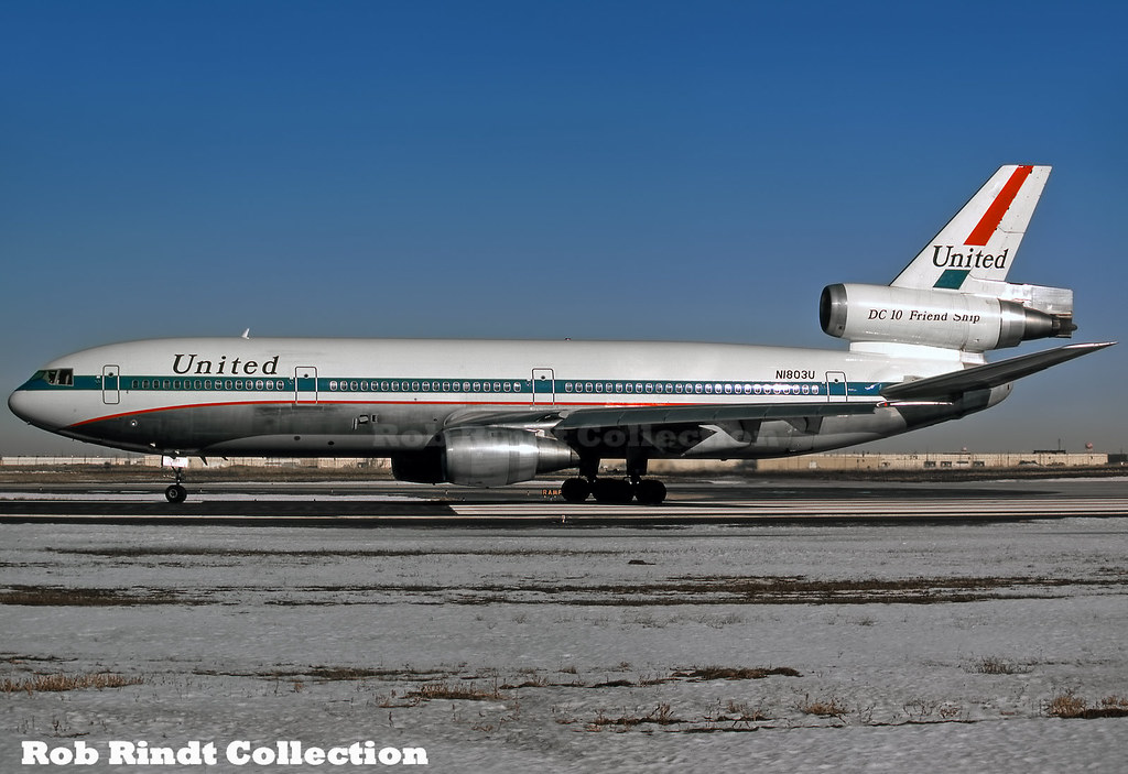 United Airlines DC-10-10 N1803U