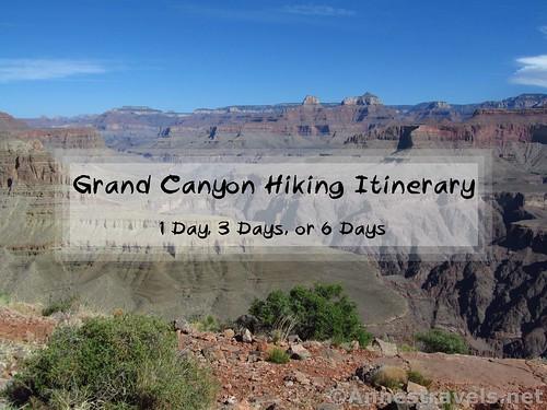 Views from Shoshone Point, Grand Canyon National Park, Arizona