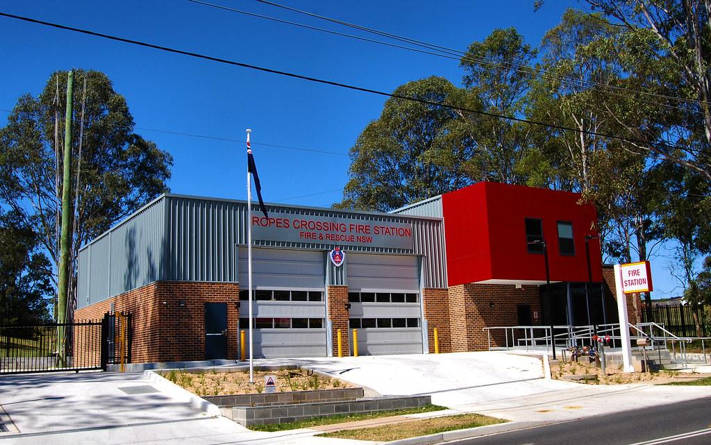 Ropes Crossing Fire Station, Tregear, Sydney, NSW.
