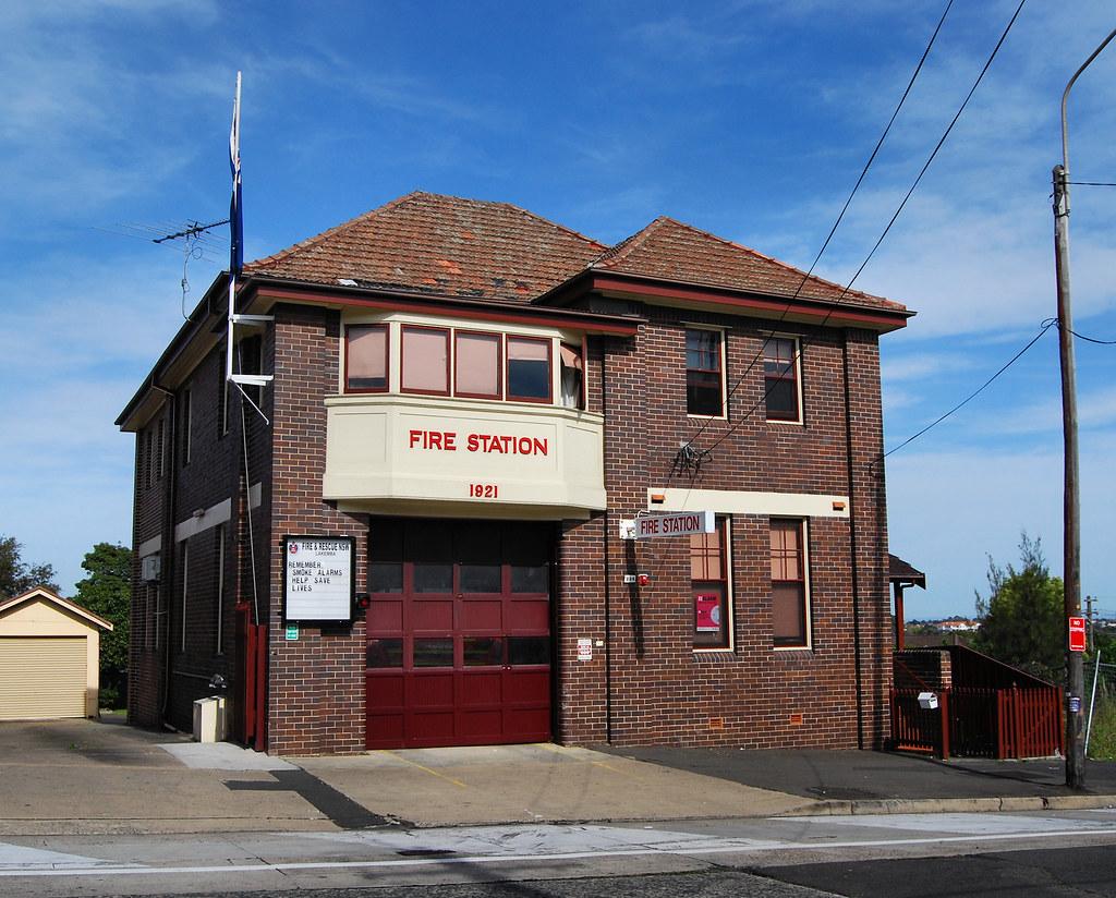 Lakemba Fire Station, Lakemba, Sydney, NSW.