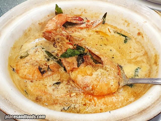 restoran fortuna palace butter prawn