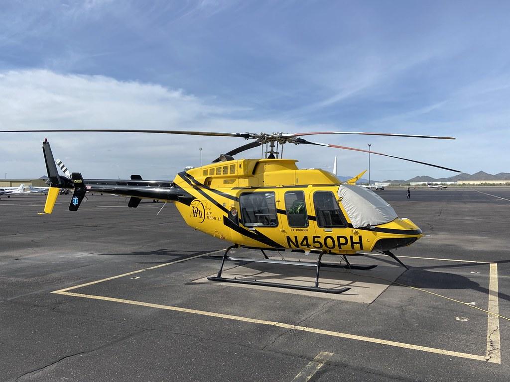 N450PH, Bell 407 (54125), Deer Valley 15th March 2020