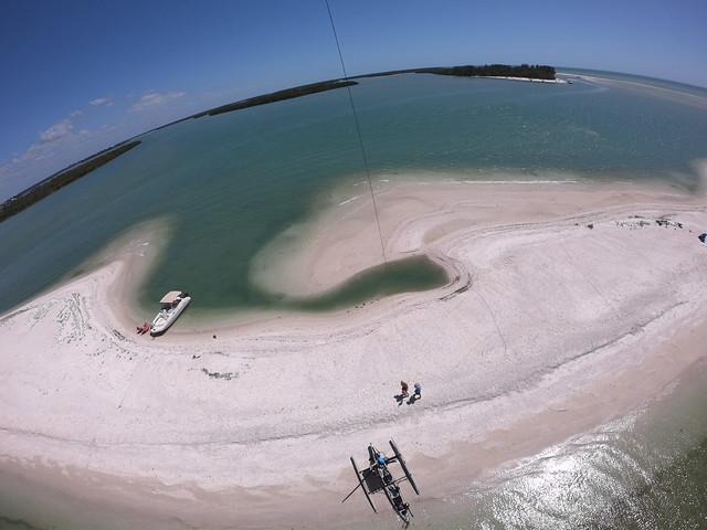 Kite Over Marco Island