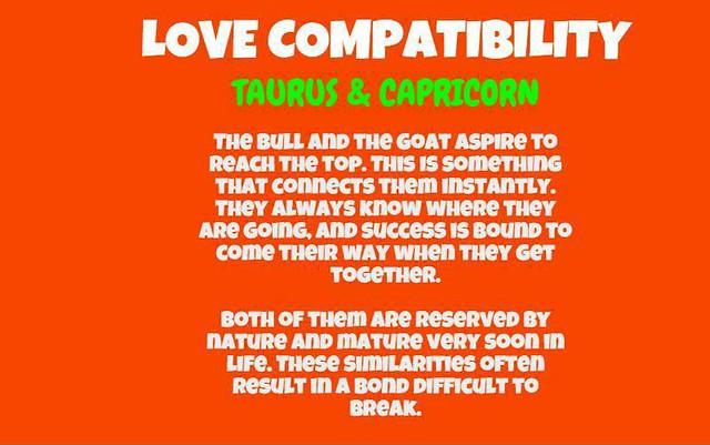 Compatibility taurus female capricorn male Taurus Woman