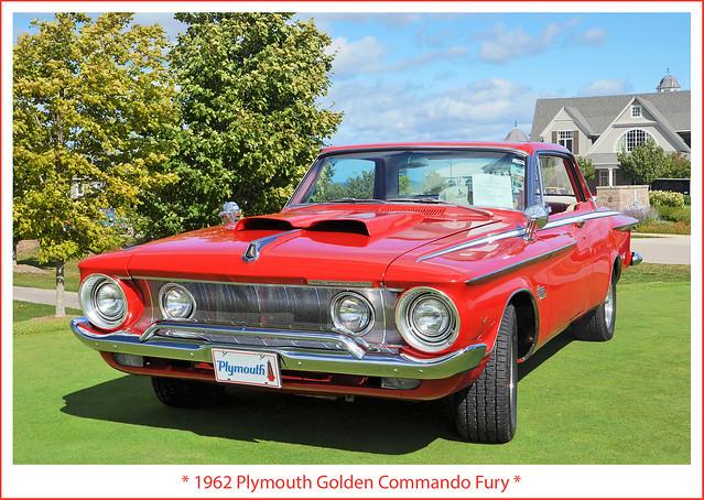 1962 Plymouth Golden Commando Fury
