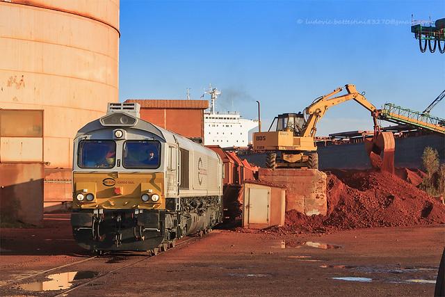 Fos-Mole-Central / Class 77009 à la pesée