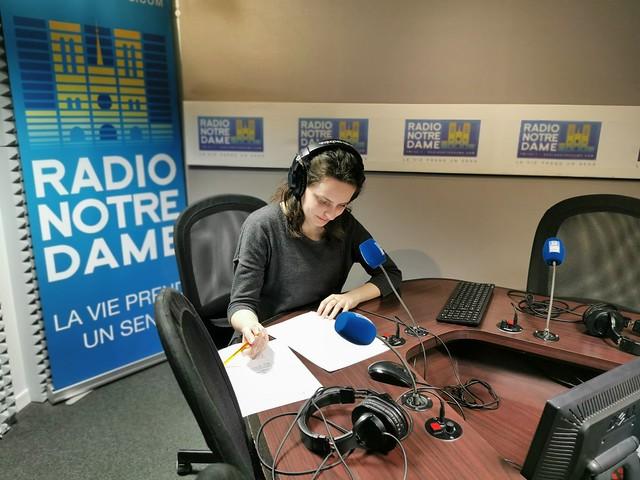 Radio Notre Dame en confinement