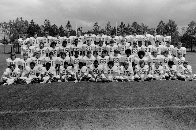 South 1975 era by Shane 1977 football Team Joey Champion Greg Poolle