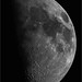 Waxing Gibbous Moon - April 1, 2020