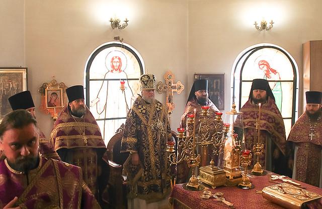 Престольный праздник и постриг в Золотухинском женском монастыре 30.03.2020