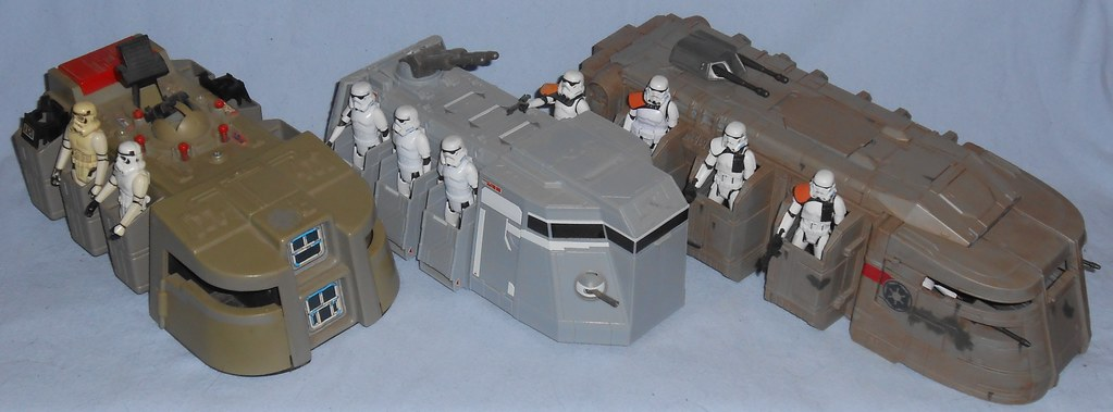 Imperial Troop Transports Comparison