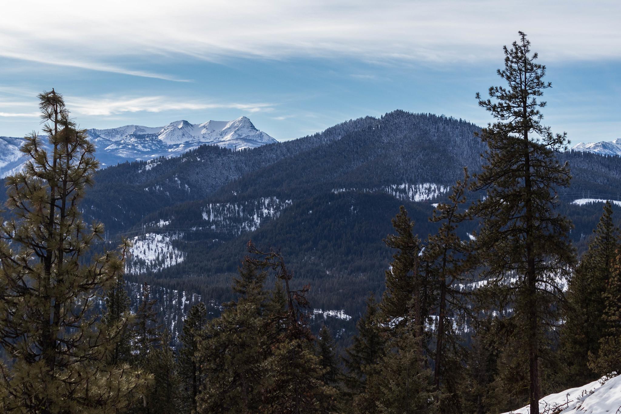 Big Jim Hill and Natapoc Mountain
