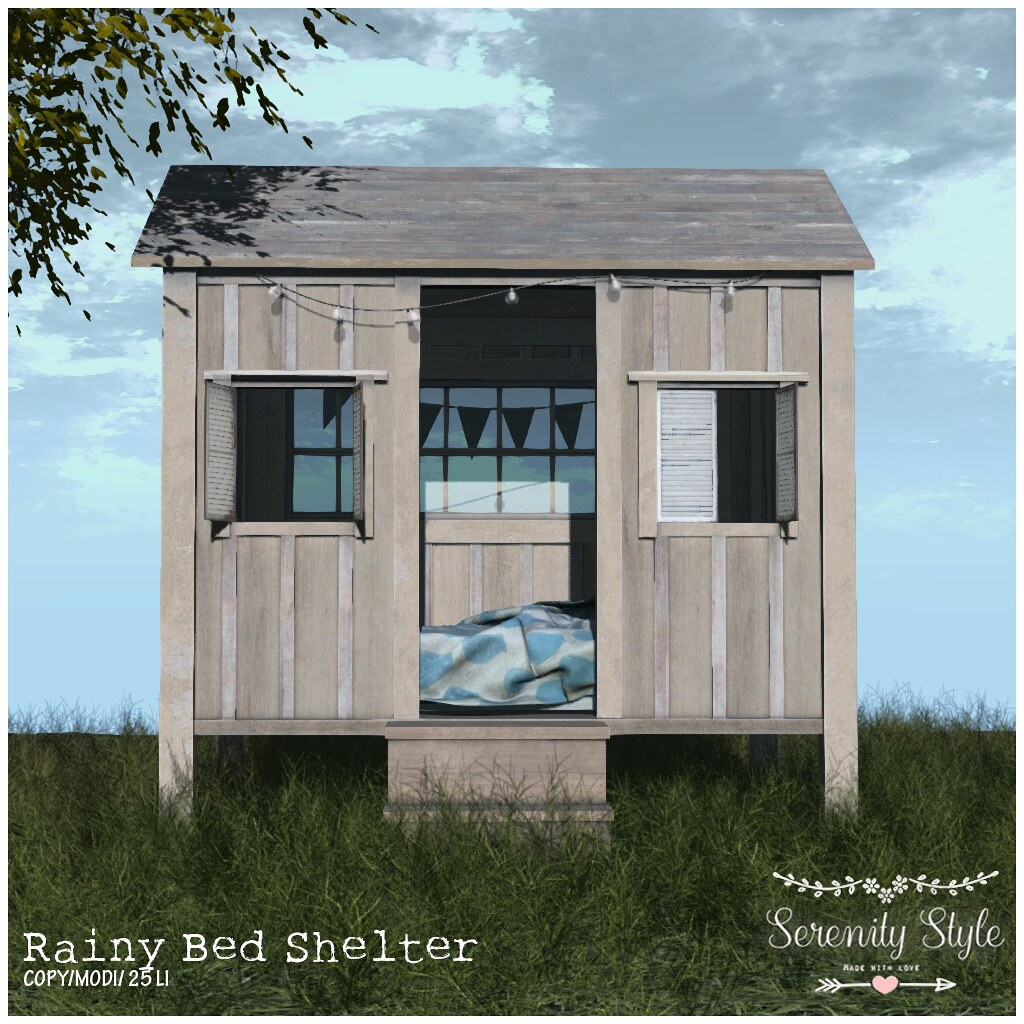 Serenity Style- Rainy Bed Shelter