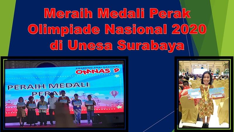 Debora Meraih Medali Perak Pada Olimpiade Nasional 2020 di Unesa Surabaya
