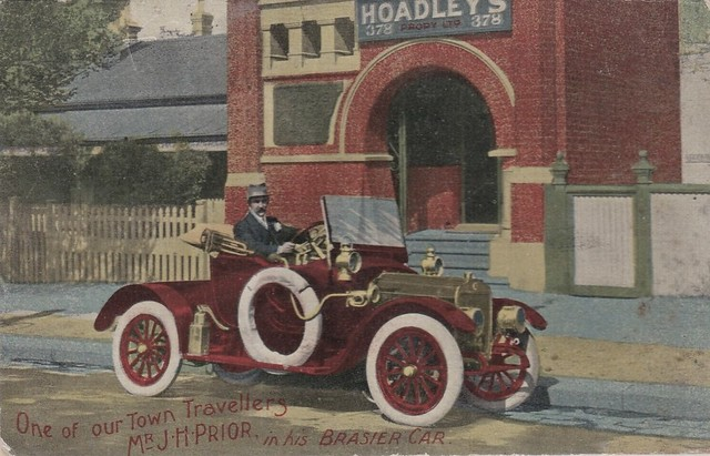 Advertising postcard for Hoadley's Pty. Ltd - 1913