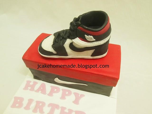 Jordan AJ 1 shoes cake 球鞋蛋糕