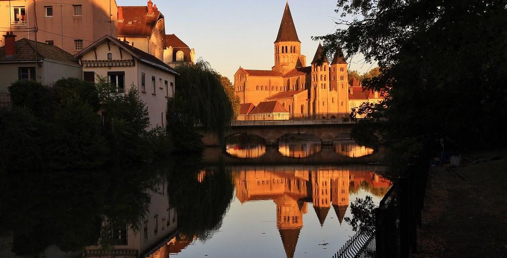 Basilique de Paray-le-Monial, Saône-et-Loire, Bourgogne-Franche-Comté
