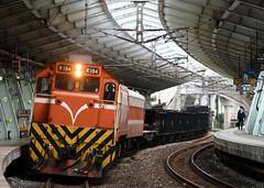 R184(+EL)+貨物列車7502次@汐科站