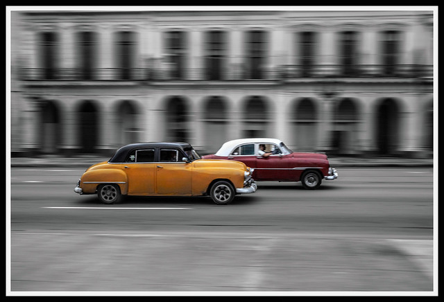 A little colour in Havana.