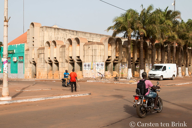 Guinea-Bissau's capital Bissau architecture