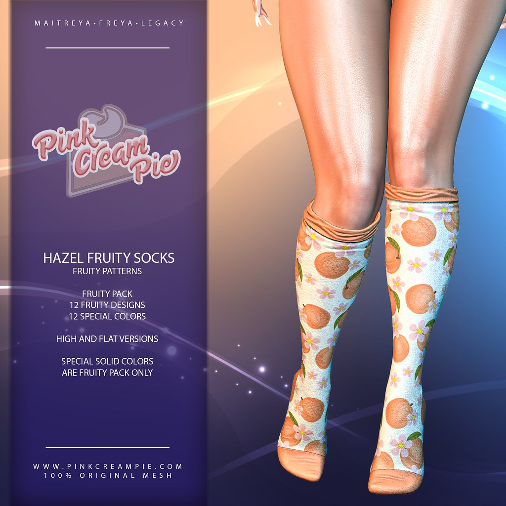 Hazel Fruity Socks @ Fly Buy Friday