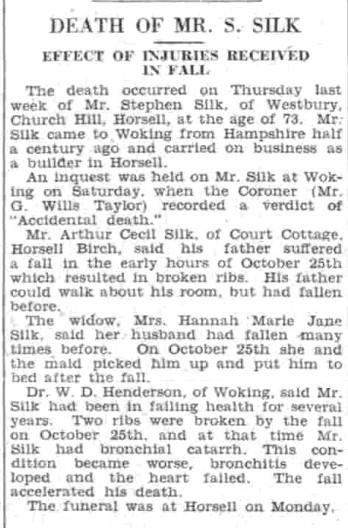 Surrey Advertiser - Wednesday 15 November 1939