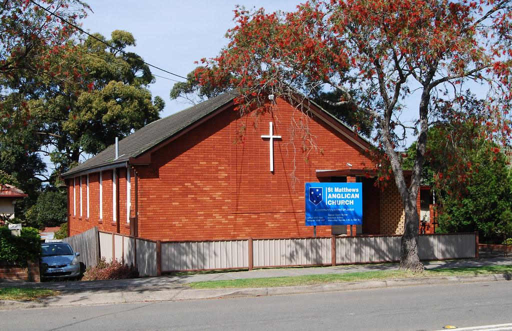 St Matthews Anglican Church, Narwee, Sydney, NSW.