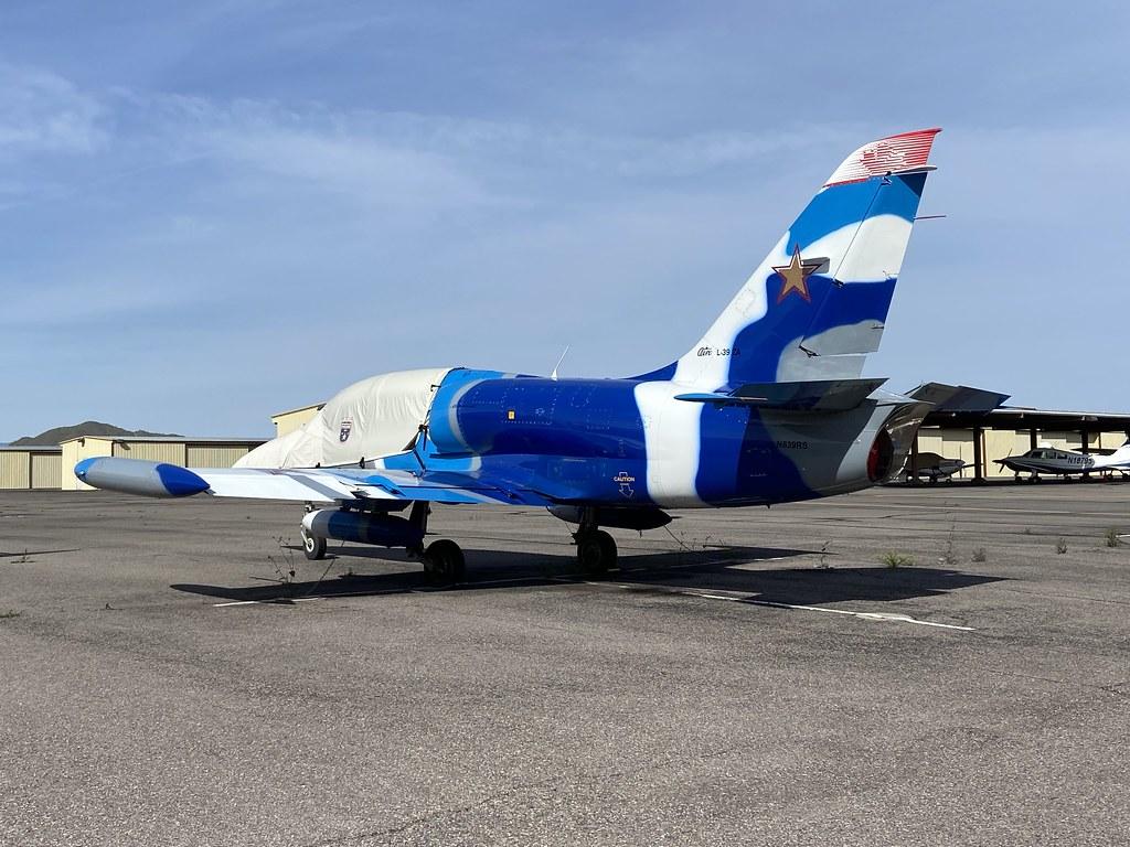 N839RS, Aero Vodochody L-39  ZA (132021), Deer Valley 15th March 2020