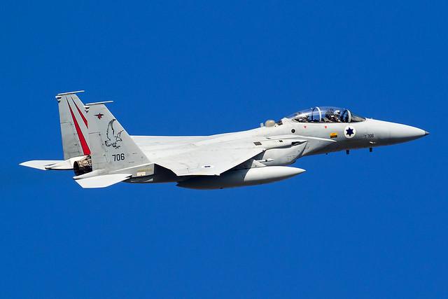 706 / Israeli Air Force / McDonnell Douglas F-15D Baz