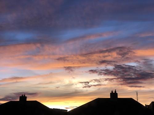 sun sunset evening cloud clouds cloudy sky light luz orange pink sundown ciel himmel cielo luce