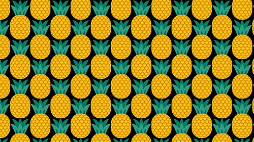OZ logos-Pineapples - Zoom background