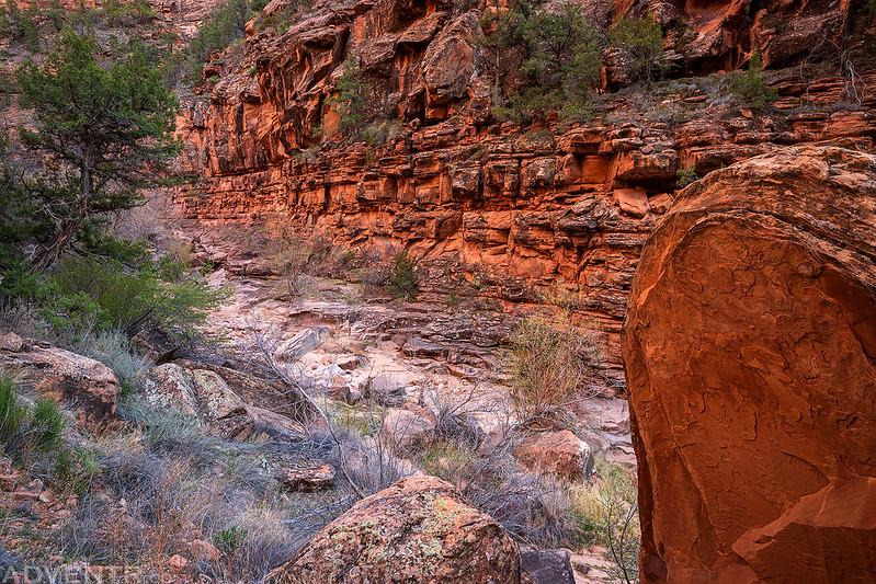 Maverick Canyon Scene
