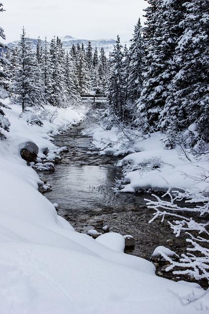 Winter at Banff