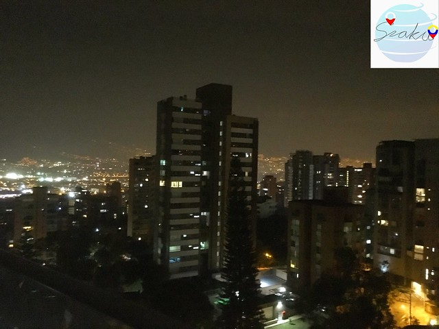Medellín by night