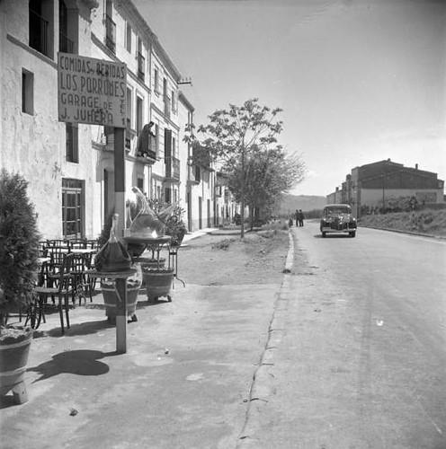 carretera general davant dels Tres Porrons