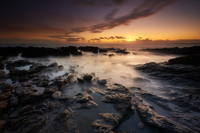 Sunset à la Pointe de Penvins