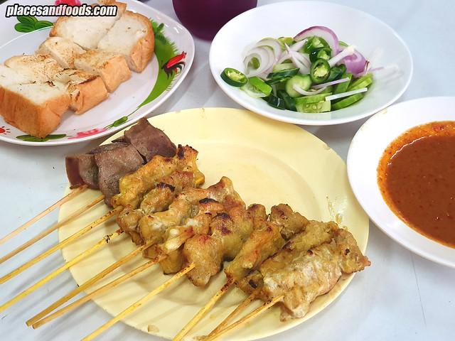 bangkok pork satay