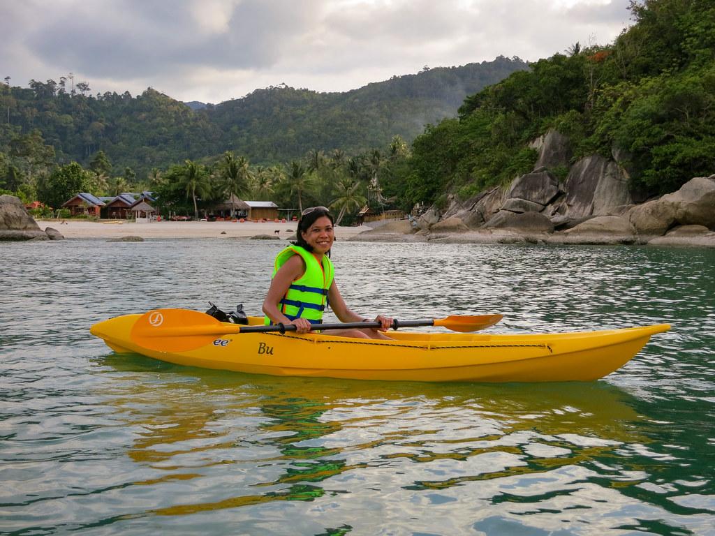 Jonalyn in the Kayak