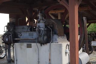 1920 Stationärer Deutz Dieselmotor