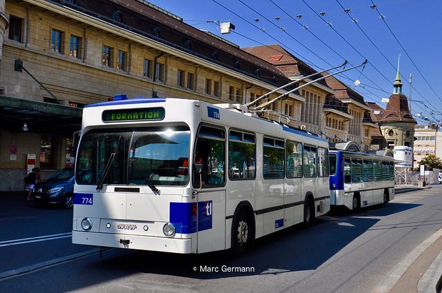 Trolleybus NAW BT-25 n°774 en Formation. © Marc Germann