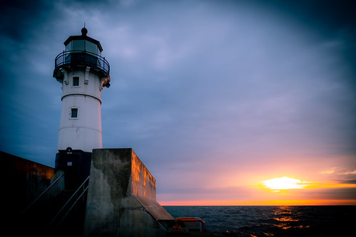 Lighthouse, Canal Park, Duluth 4/2/20 | by Sharon Mollerus