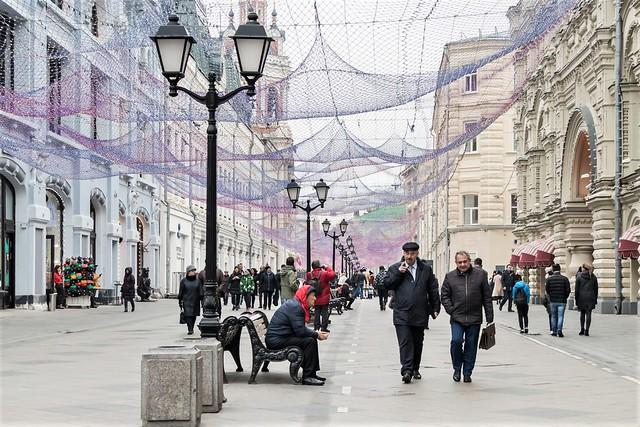 Moscow, Nikolskaya Street.
