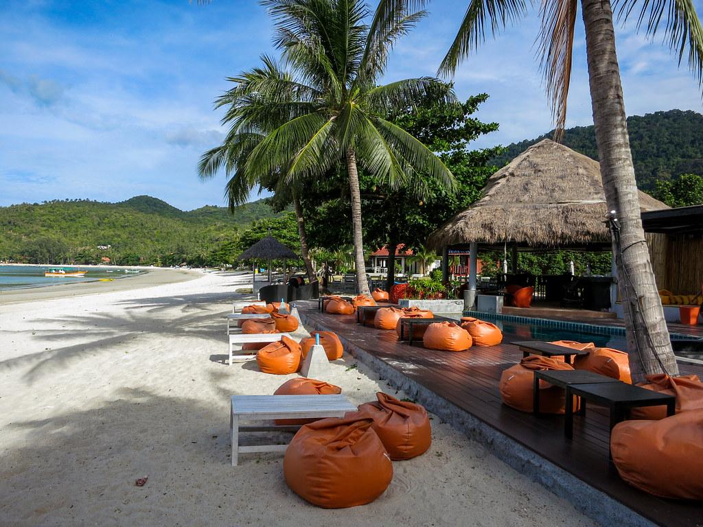 Resorts along Thong Nai Pan Yai Beach