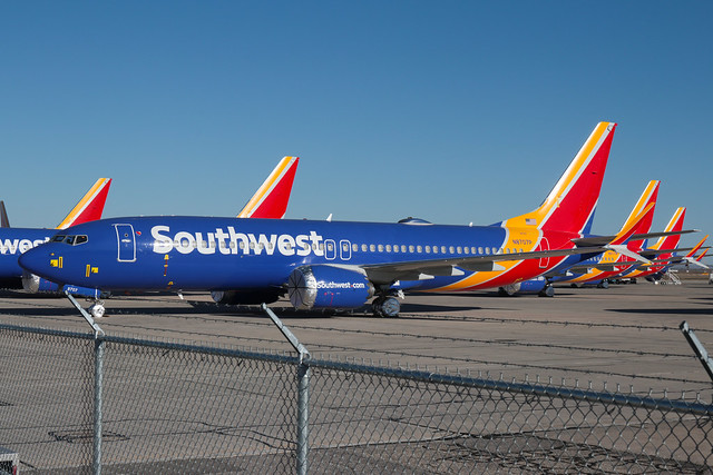 Southwest Airlines Boeing 737-8 MAX N8707P 200226 VCV