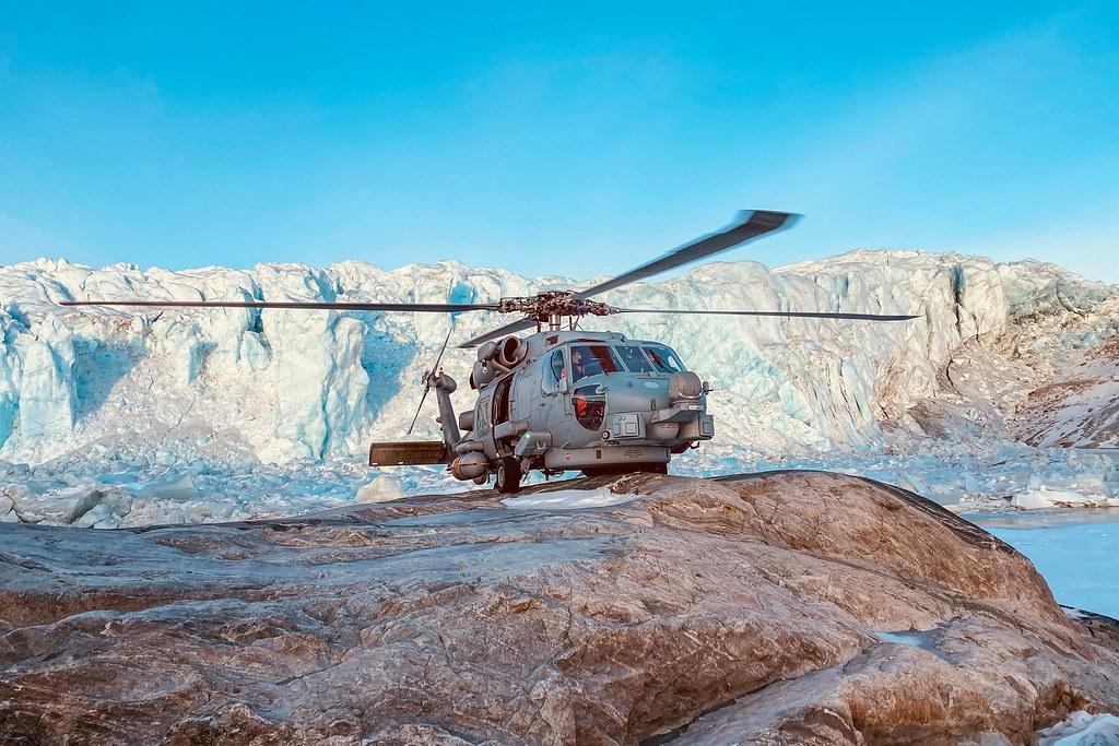 RDAF Seahawk in Greenland