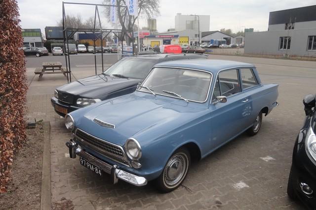 Ford Cortina mk1 1200 Deluxe 15-1-1964 97-PM-84