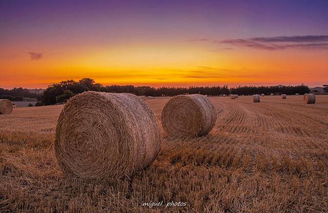 Round ballers , sunset fire ! ( 35 Saint-malo , Bretagne )