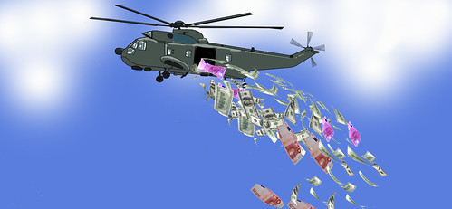 helicopter money | by petra.wessman