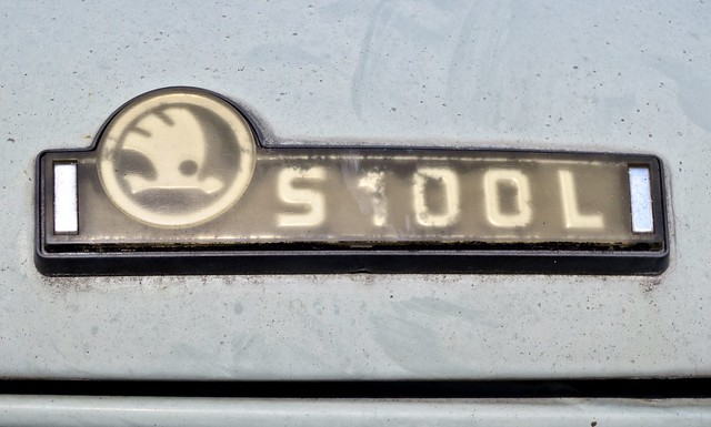 1972 Škoda S 100 L Type 722 Rear Emblem